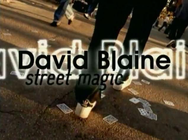 David Blaine Street Magic