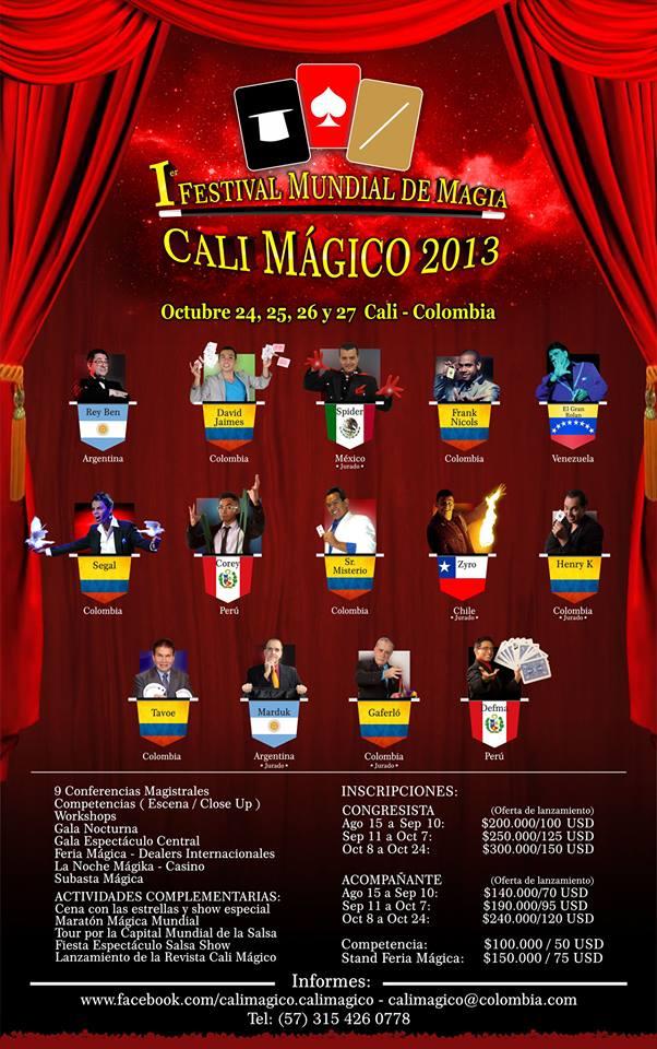 festival mundial de magia cali magico