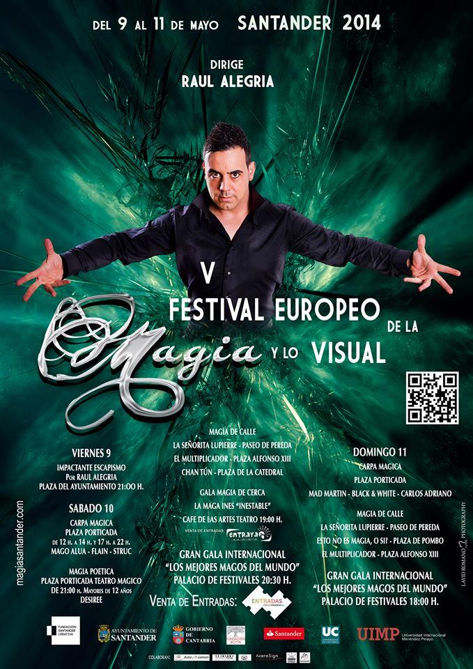 v festival europeo de la magia y lo visual