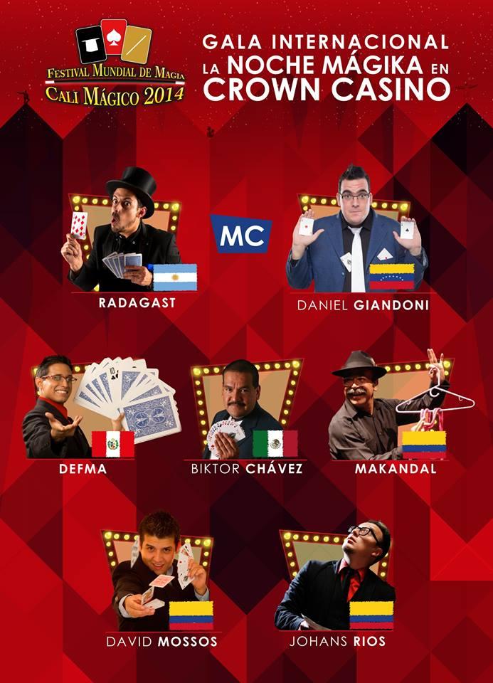 la noche magicka crown casino cali magico 2014