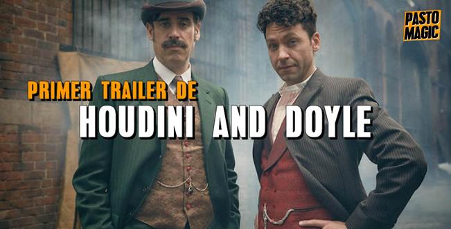 trailer houdini and doyle