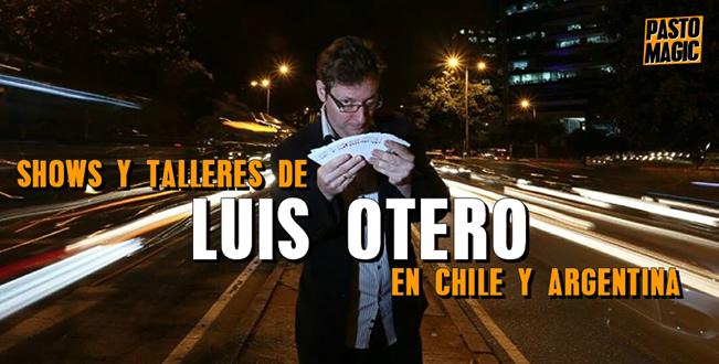 luis otero chile argentina show taller conferencia