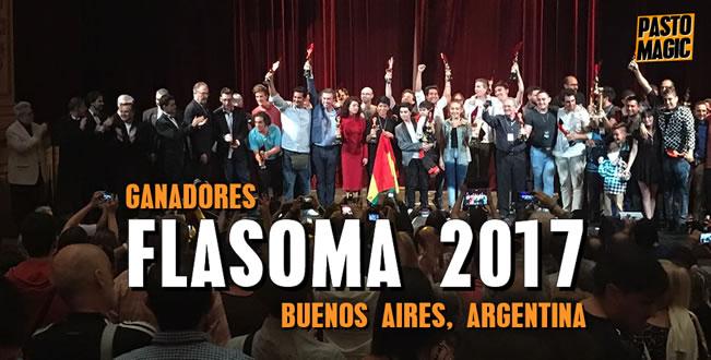 ganadores flasoma 2017 Buenos Aires